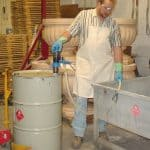 Delivering Flammable Liquds with Plastic Pump