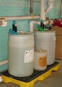 drum hand pumps chemicals - biocide safe pump - goatthroat pumps
