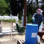 GoatThroat Pumps in use at Rancho Rodoro 1